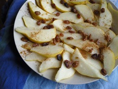pears and raisins