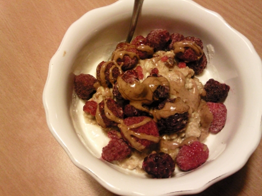 greek yogurt with oats