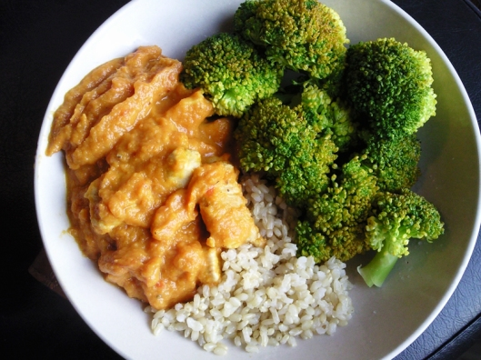 ginger carrot chicken