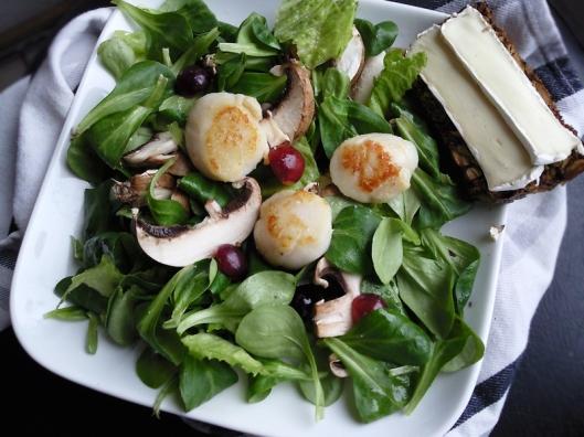 scalop salad