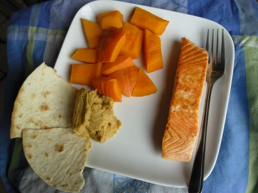 salmon and hokkaido
