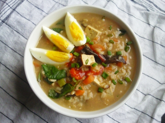 brown rice congee