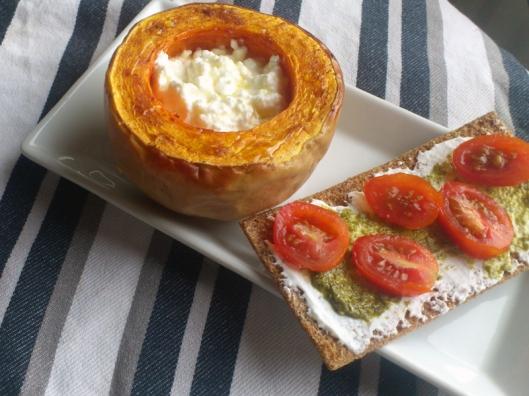 baked butternut squas