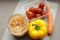 snacking vegetables